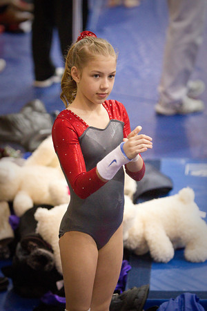 Girl gymnastics teen